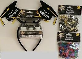 Graduation Décor Confetti Headbands Bubbles, Select: Type - $2.99