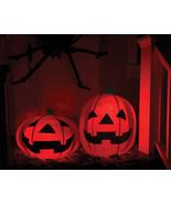 Halloween Decoration Party Lighted Pumpkins Yard Decor Airblown Inflatab... - $49.99