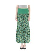 Women's Cartoon Penguin Printed Elastic Full Length Maxi Skirt (XS-3XL, ... - $28.99+