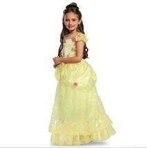Halloween Kids' Deluxe Disney Princess Belle Halloween Costume Dress M (7-8) - $23.22