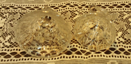 Vintage Hofbauer 'The Byrdes' Crystal Bell and Small Candleholder image 3