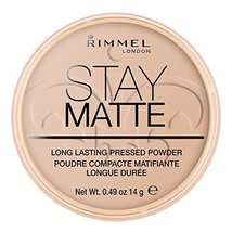 Rimmel London Stay Matte Long Lasting Pressed Powder - 005 Silky Beige by Rimmel - $9.79