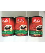 EMPTY Coffee Can LOT w/ Lids Melitta Canisters Craft Storage Garage Orga... - $8.91