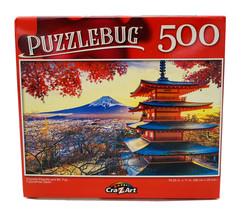 """""""Churello Pagonda and Mt. Fuji, Fujiyoshida, Japan"""" ~ 500 Pcs Jigsaw Puzzle - $4.46"""