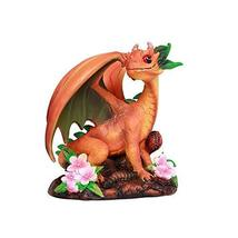 ABZ Brand Peach Tree Blossoms Dragon Statue by Stanley Morrison - $21.77