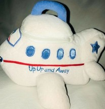 Baby Gund Up Up & Away Plush Airplane Pilot Zipper 58384 - $32.68