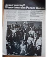 Vintage Electric Light & Power Companies Parent Boom Print Magazine Ad 1971 - $5.99