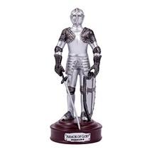 Full Armor of God Ephesians 6 Resin Stone 5 inch Knight Figurine - $13.26
