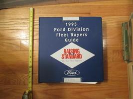 1995 Ford Car Truck Auto Fleet Buyers guide Dealership dealer Sales book... - $49.99