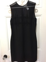 Sandra Darren Black Sleeveless Sheath Dress, Cocktail, Ladies Size 10 - $11.75
