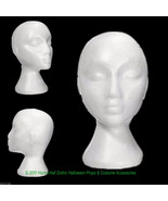 12pc LOT-Prop Building Supply-MANNEQUIN HEADS-Halloween Costume Mask Wig... - $79.17