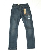 NWT Levis 514 Straight Reg. K-Town 005140742 Jeans Blue Wash Stretch Waterless - $29.99