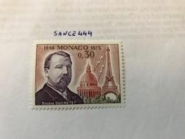 Monaco Eugene Ducretet manufacturer 1973 mnh                 stamps - $1.20