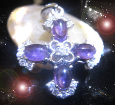 HAUNTED OOAK NECKLACE EXTREME BLAST OF DIVINE CLEANSING ENERGIES RARE MAGICK - $7,999.77
