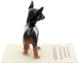 Hagen-Renaker Miniature Ceramic Dog Figurine Chihuahua Tiny Mama Black image 4