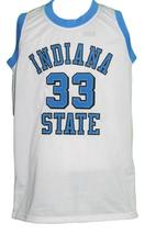 Larry Bird #33 College Basketball Jersey Sewn White Any Size image 3
