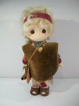 """Vintage Precious Moments Children Of The Bible David 8"""" Vinyl Doll 1ST Edition - $15.63"""