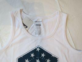 Billabong Boys youth tank top shirt XL Tailored Fit Access BT83PBAC White Flag image 3