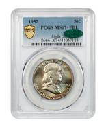 1952 50c PCGS/CAC MS67+ FBL ex: Linda Gail - Franklin Half Dollar - $32,786.00