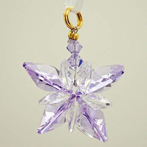 J'Leen Violet Small Crystal Butterfly