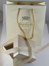 Kette aus Weißgold 750 18K Länge 40 45 50 60 CM Rolo Ringe Auflagen 2.5 MM image 3