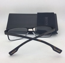 New HUGO BOSS Eyeglasses 0682 Z0U 57-19 145 Brown & Tortoise Havana Frame