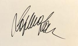Sophia Loren Autographed Hand Signed 3x5 Index Card Marriage Italian Style w/COA - $39.99