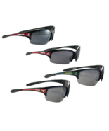 NCAA Collegiate Licensed Mens Womens Unisex Black Sunglasses S7 Choose Y... - $13.29