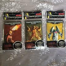 3x Transformers Fun Packs Micro-Comic Book Micro Comic Poster Tattoo LOT - $8.45