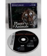 Plants and Animals Science Series Zane Home Library CDROM Win95 MAC 1995 - $34.64