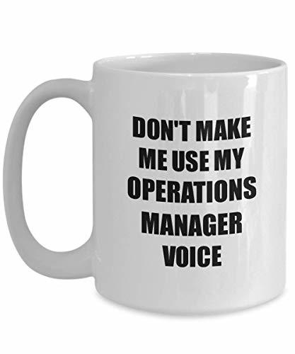 Primary image for Operations Manager Mug Coworker Gift Idea Funny Gag for Job Coffee Tea Cup 15 oz