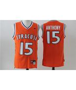 NCAA Syracuse Orange Carmello Anthony #15 Stitched Jersey.jpg - $26.66
