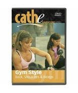 CATHE FRIEDRICH Gym Style DVD Hardcore Series Back Shoulders & Biceps Wo... - $13.55