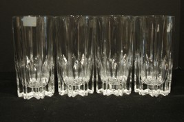 Set of 4  Mikasa BERKELEY Crystal  Highball Glasses Made in Germany  - $24.99