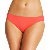 NEW Michael Kors Coral Solid Classic Hipster Bikini Bottom XS XSmall MM2... - $12.66