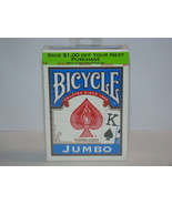 BICYCLE - JUMBO PLAYING CARDS (New) - $10.00