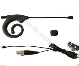 Black Snail Ear Hook Headset Detachable Microphone For Shure PGX ULX BLX... - $31.19