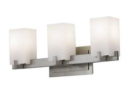 Generation Lighting MVS18401BS Riva 3 Bulb Bathroom Light Brushed Steel - $69.25