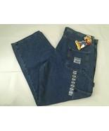 NWT Vintage 1990's Men's Steve & Barry's Carpenter Jean Pants, Size 42x30 - $39.99