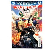 Justice League #1 DC 2016 NM Wonder Woman Batman Aquaman Flash Green Lan... - $3.91