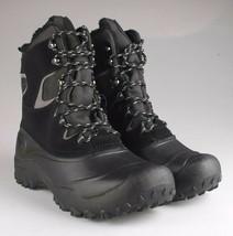 Goodfellow & Co Case Men's Black Leather Textile Faux Fur Chucka Winter Boots