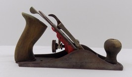 Vintage Stanley Handyman Plane No H1204 Woodworking Hand Tool Rusty AS IS - $49.49
