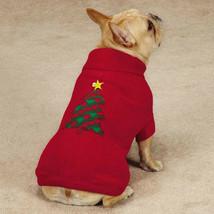 Holiday Houndstooth Dog Knit Sweater XXS-XL Christmas Tree w/ blinking star Xmas - $17.99+