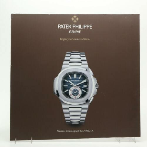 "30x29"" Patek Philippe Geneve Nautilus Chronograph Watch Poster Advertising Sign"