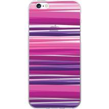 OTM Prints Clear Phone Case, Purple Stripes - iPhone 7-7S - $32.97