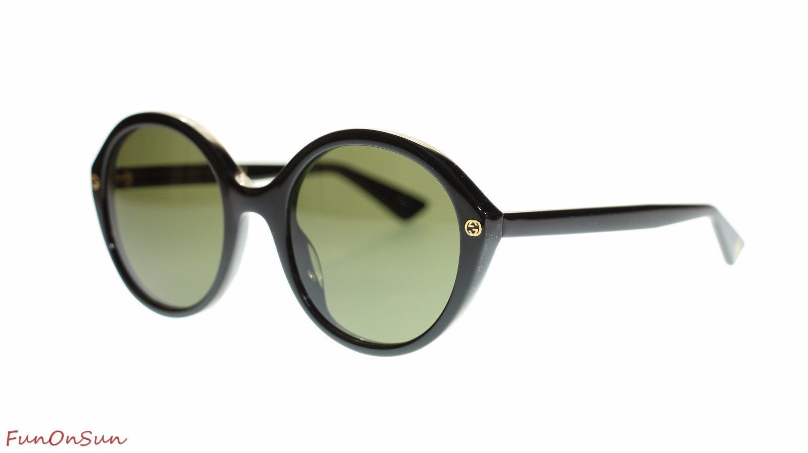 a289d0c902 Gucci Women Round Sunglasses GG0023S 001 and 48 similar items. S l1600