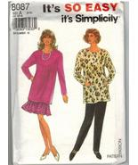Simplicity Uncut Sewing Pattern #8087 Misses' Pants Skirt Tunic Size A (... - $7.50
