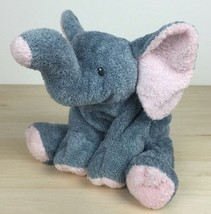 """2002 Ty Pluffies Winks Elephant 7"""" Gray Plush No Hang Tag - $17.81"""