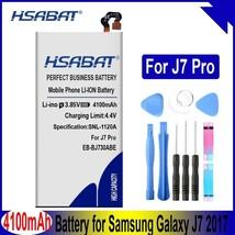 HSABAT 4100mAh EB-BJ730ABE Battery for Samsung Galaxy J7 2017, Galaxy J7 Pro, SM - $19.30