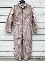 New Genuine Us Air Force Tan Nomex Fire Resistant Flight Suit CWU-27/P - 40S - $103.95